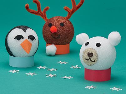 Reinvented Craft Winter Animals Scholastic
