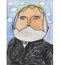 Rutherford B. Hayes By Ibraheem, 9, Illinois