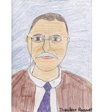 Theodore Roosevelt By Reed, 10, Oregon