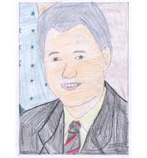 William J. (Bill) Clinton By Vallery, 8, Florida