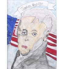 James Monroe By Tanner, 10, Wisconsin