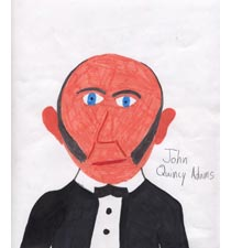 John Quincy Adams By Lucy, 10, Oregon