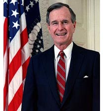 George H. W. Bush United States Government