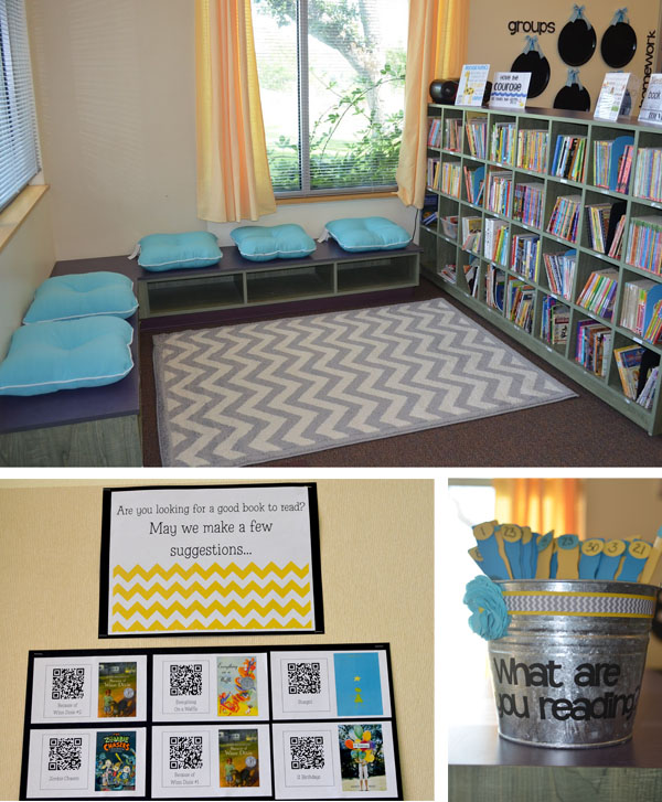 Fun And Cozy Library Design By Yta: Amazing Classroom Reading Corners