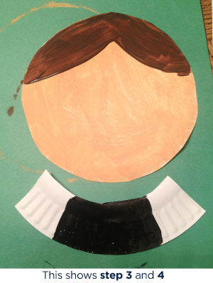 What You Need Paper plates ... & Paper Plate Pilgrim Lady Craft | Scholastic