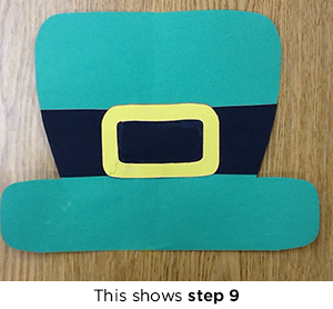 Leprechaun masks craft project scholastic for Leprechaun mask template