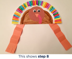 What You Need White paper plates ...  sc 1 st  Scholastic & Paper Plate Turkey Hat Craft | Scholastic