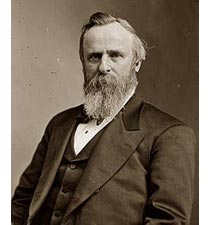 Rutherford B. Hayes Matthew Brady and Levin Handy