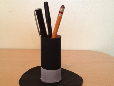 Abraham Lincoln Hat Pencil Holder