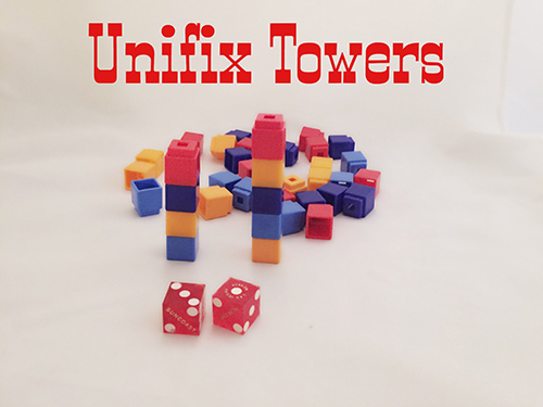Unifix cube towers for addition and subtraction