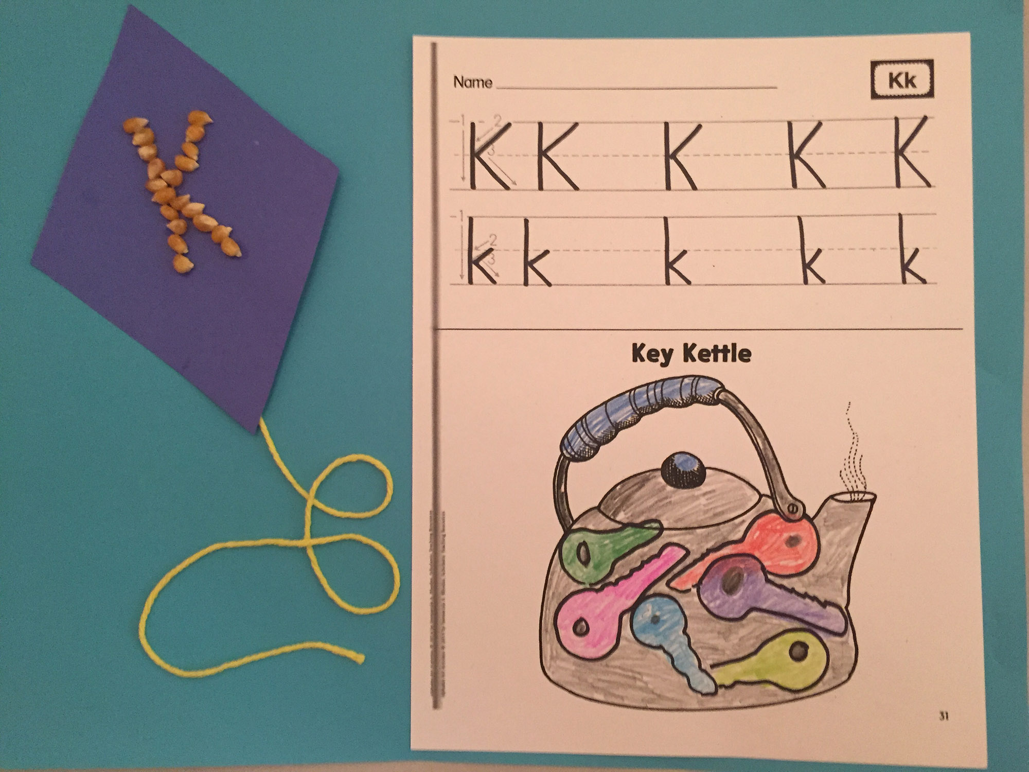 Kernel K Kite and Key Kettle