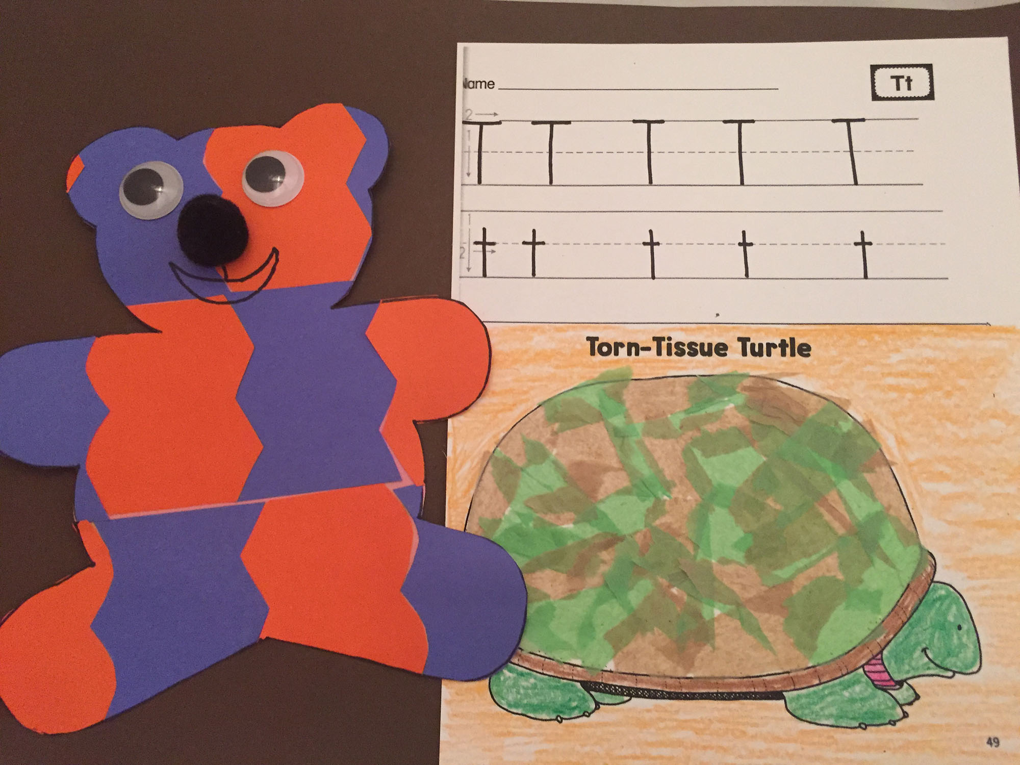 Tessellated Teddy and Torn-Tissue Turtle