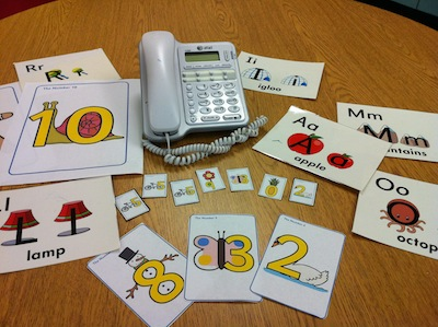 Teaching Students Their Names, Birthdays, and Phone Numbers