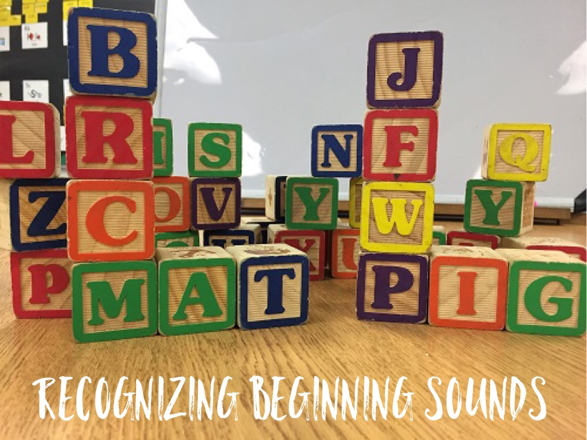 Fun Reading Games: Beginning Letter Block Groups
