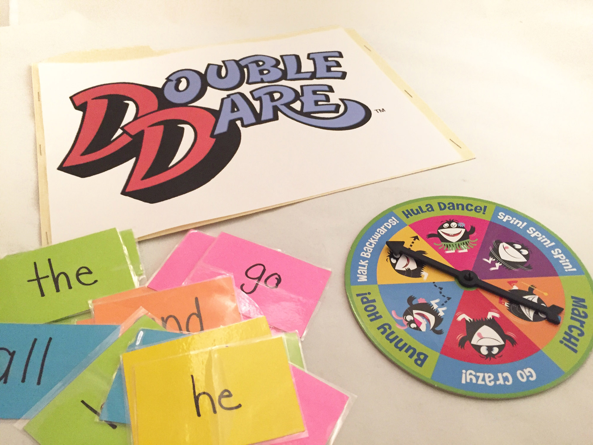 Double Dare Card Game