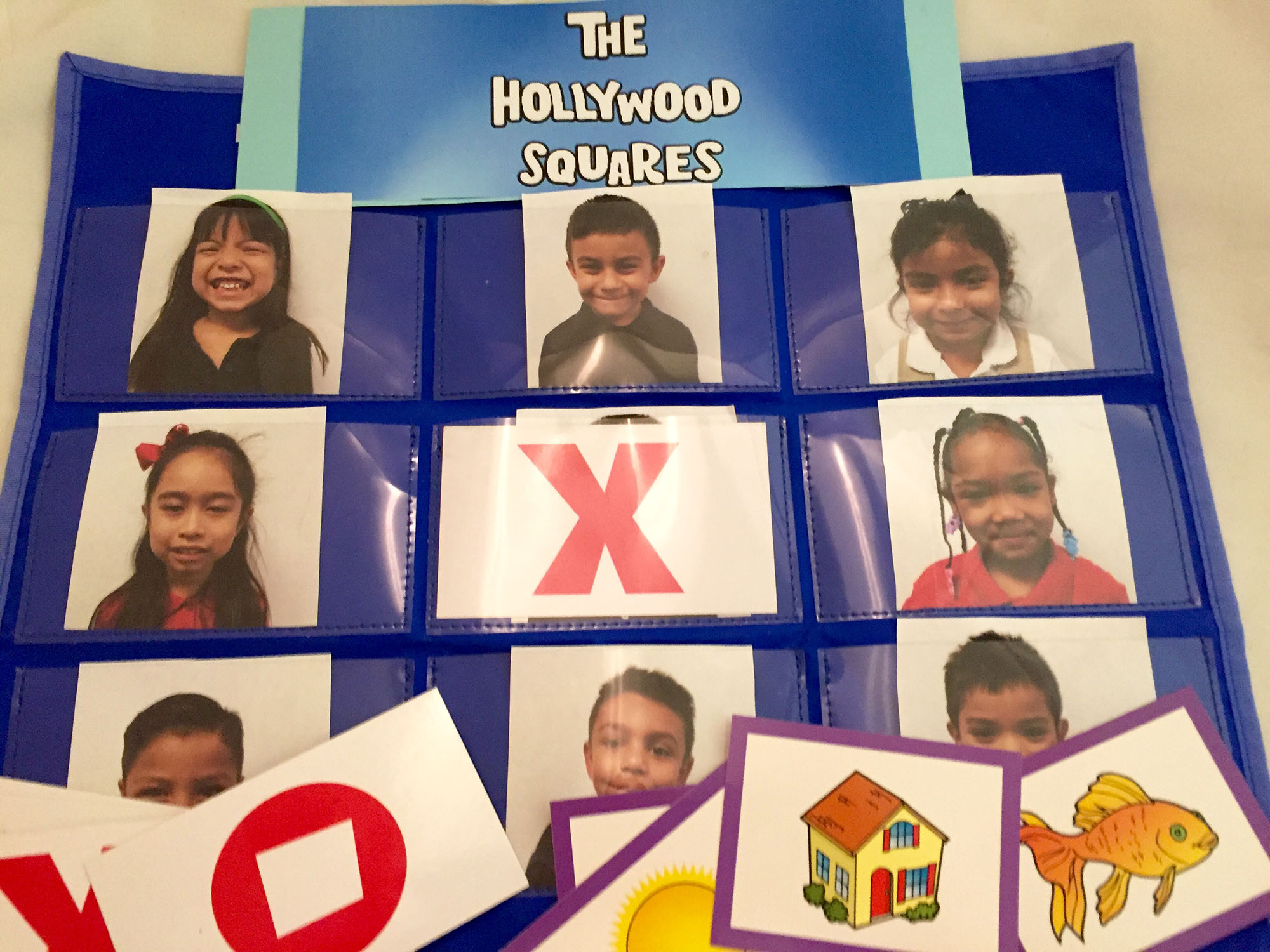 Hollywood Squares Card Game
