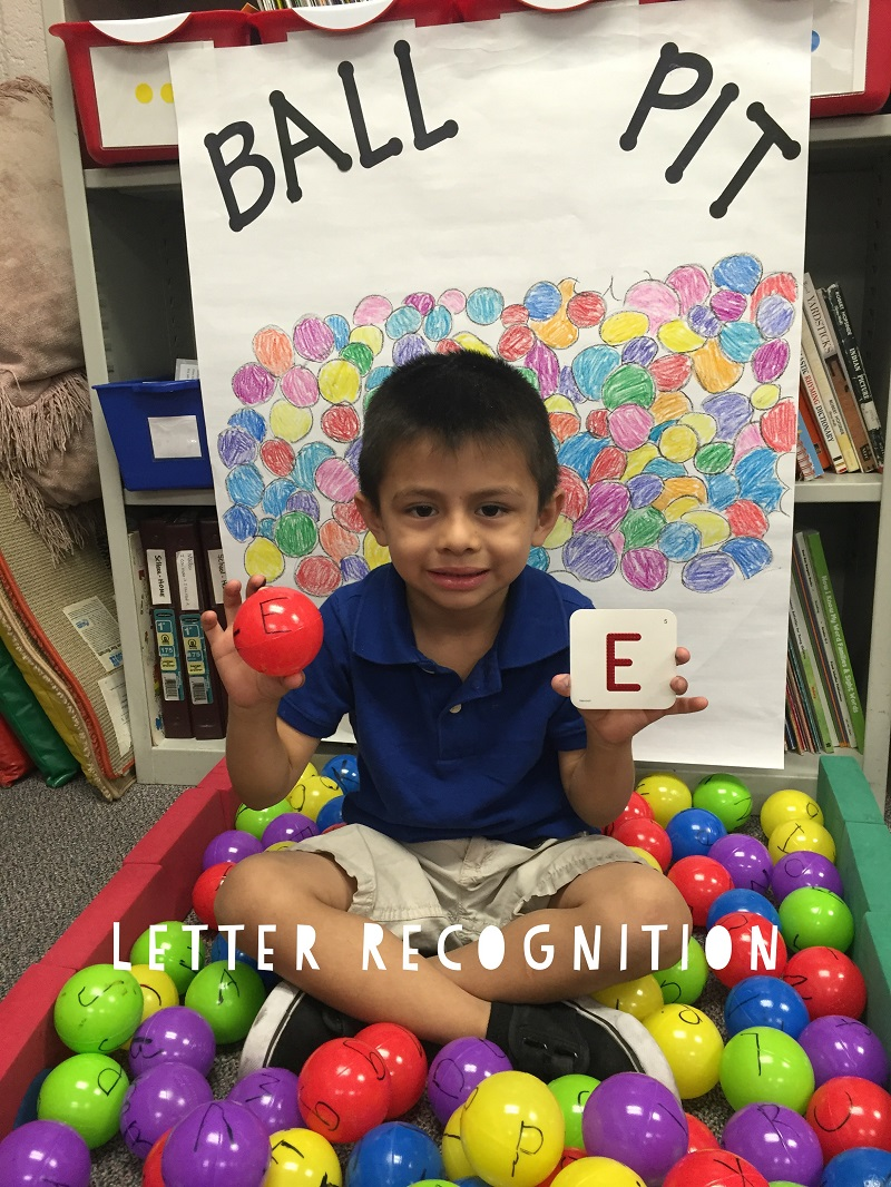Fun Reading Games: Letter Recognition Ball Pit