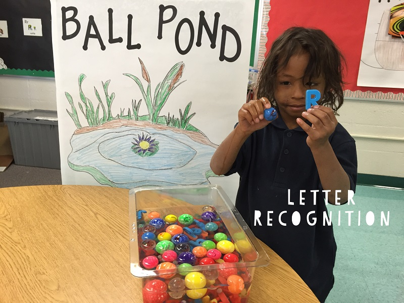 Fun Reading Games: Letter Recognition Ball Pond