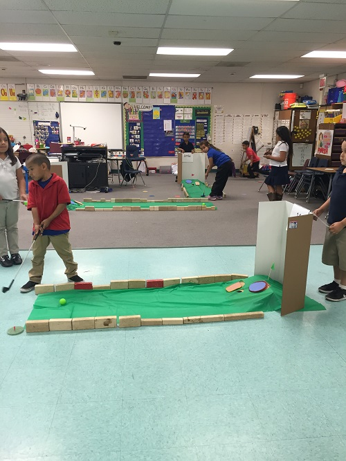 Play Miniature Golf For An End Of The Year Review Scholastic