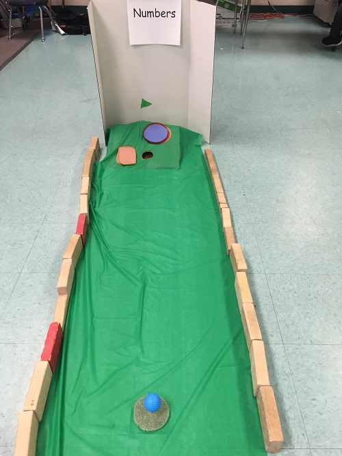 Mini Golf End-of-Year Review - Number Recognition