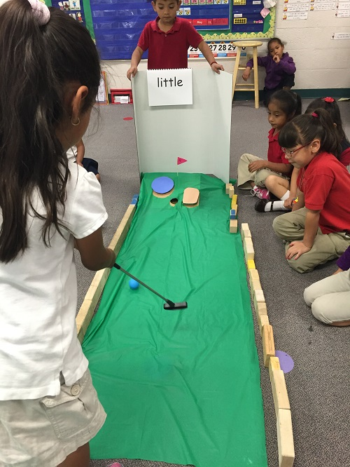 Mini Golf End-of-Year Review - Sight Words