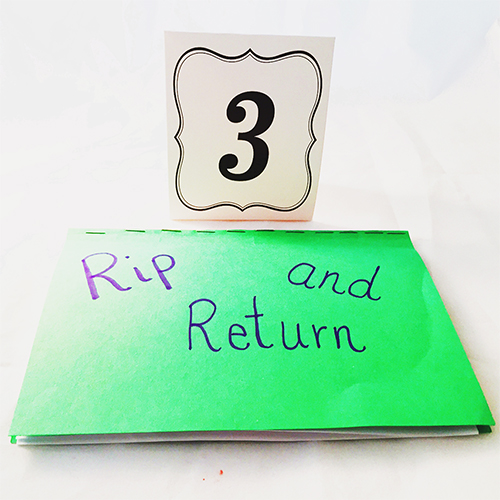 Rip & Return Book - Outside View