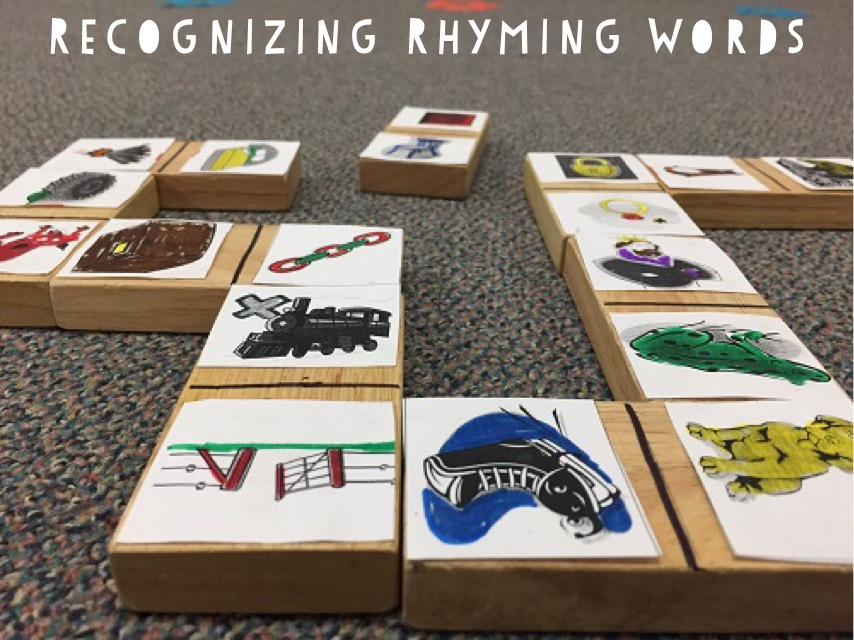 Fun Reading Games: Rhyming Block Linking