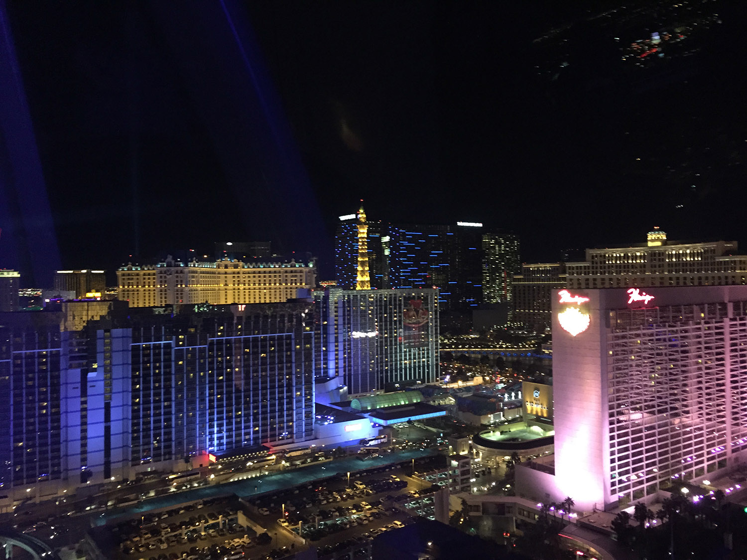 View of Las Vegas from the High Roller