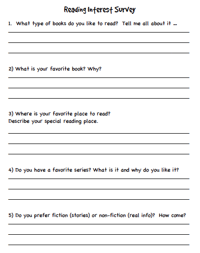 Getting To Know My Students As Readers Scholastic