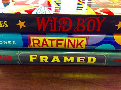 Super Simple Book Spine Poetry