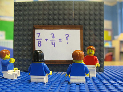 Using LEGO to Build Math Concepts Scholastic