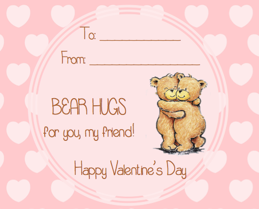 friendly valentine cards Valentines Day – Friendly Valentine Cards