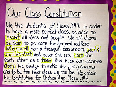 We the People: A Constitutional Approach to Classroom Rules