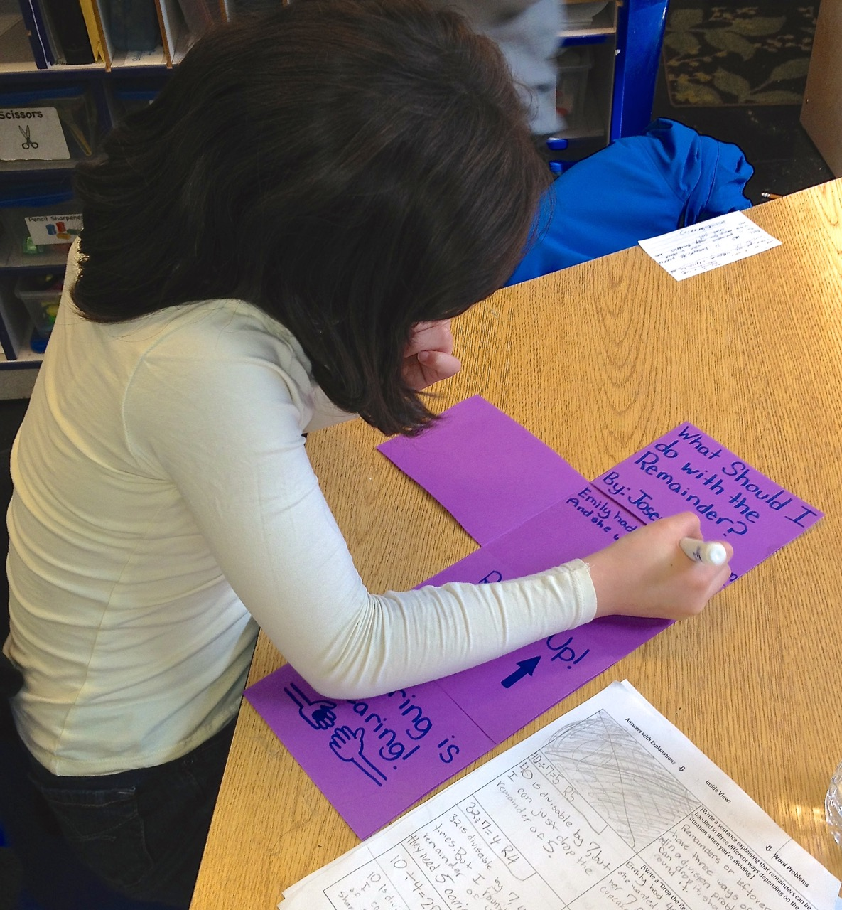 Division sos what to do about remainders scholastic applying remainder strategies with an artsy foldable robcynllc Image collections