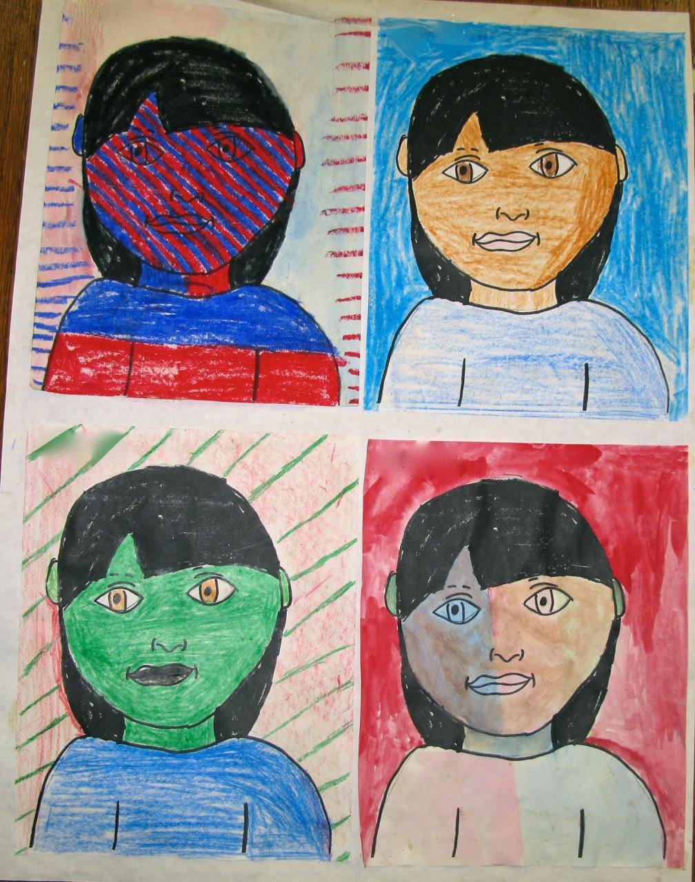 Three Ideas For Student Self Portraits Scholastic