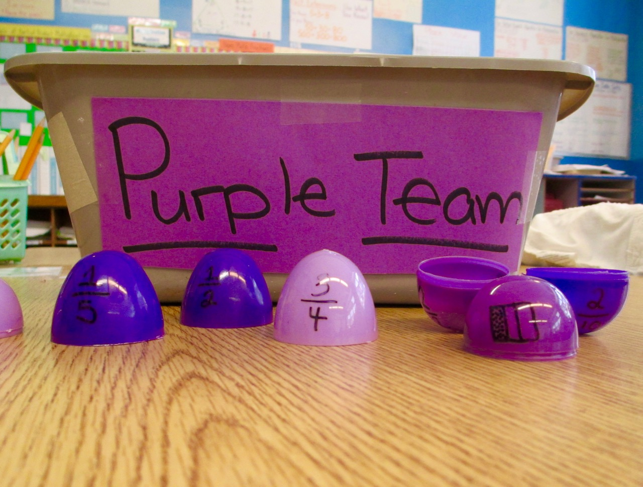Equivalent Fractions Egg Hunting! | Scholastic