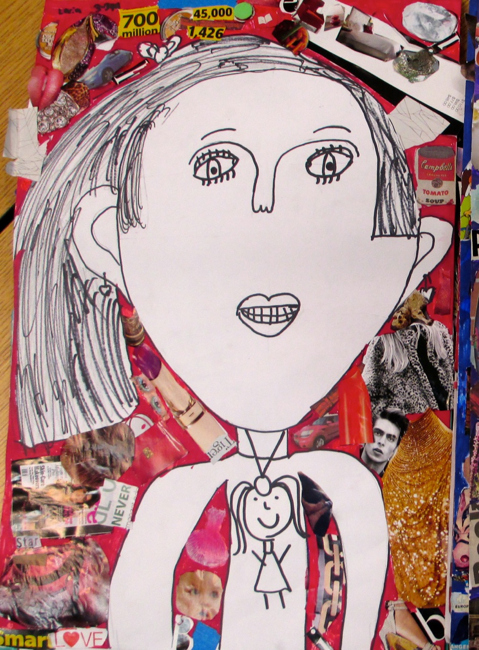 Three Ideas For Student Self Portraits Scholastic