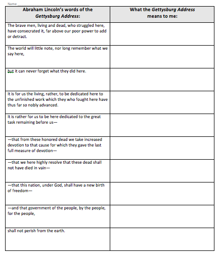 Creative USA: A Class Divided Worksheet Answers