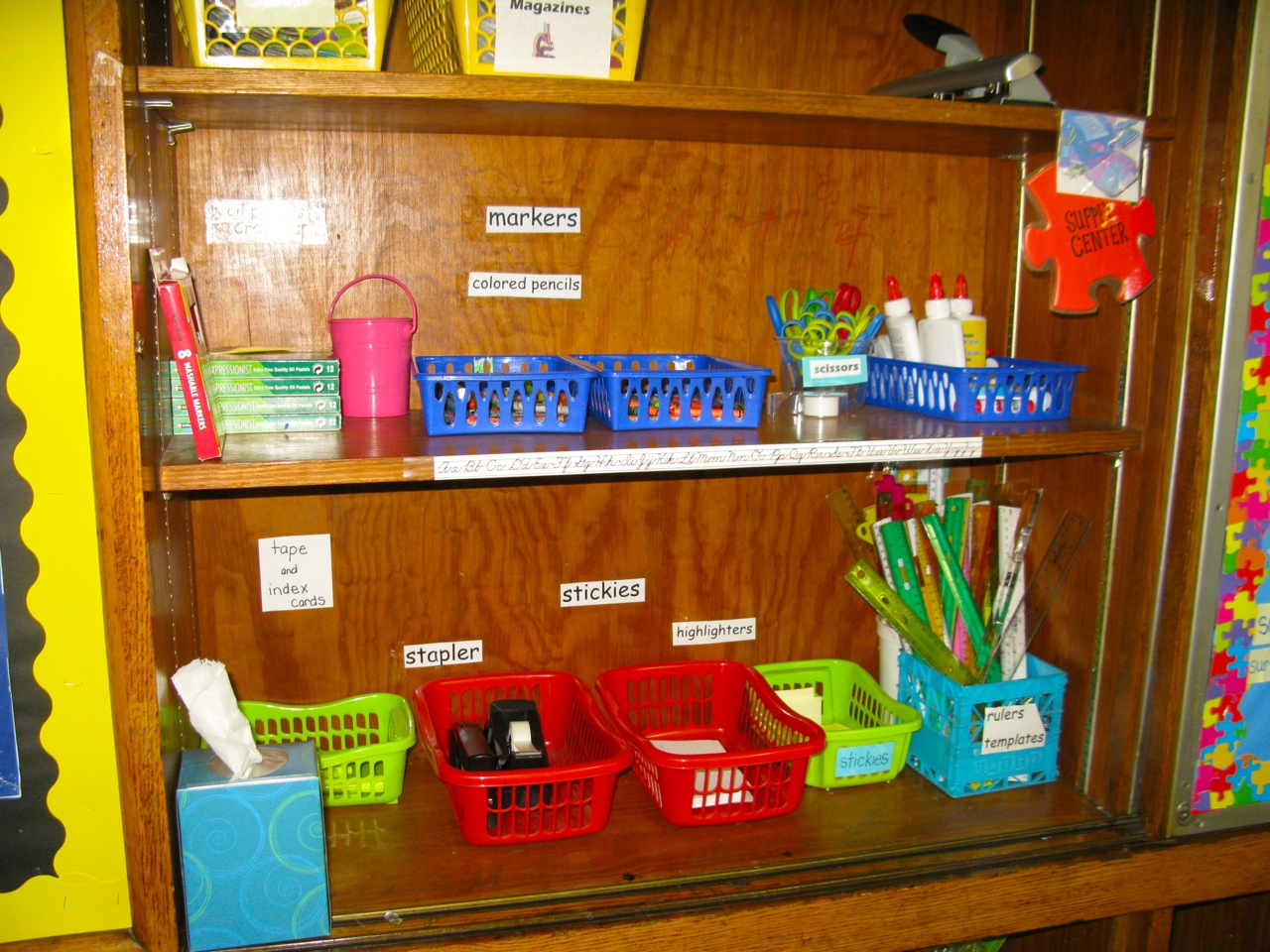 All Basic Office Supplies Are Available For Teachers, Volunteers, And  Students To Use. I Keep It Out In The Open And Encourage Everybody To Help  Themselves ...