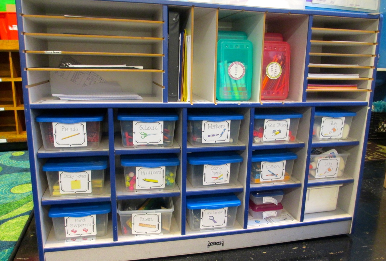 Classroom Storage Ideas ~ Classroom organization ideas that really work scholastic