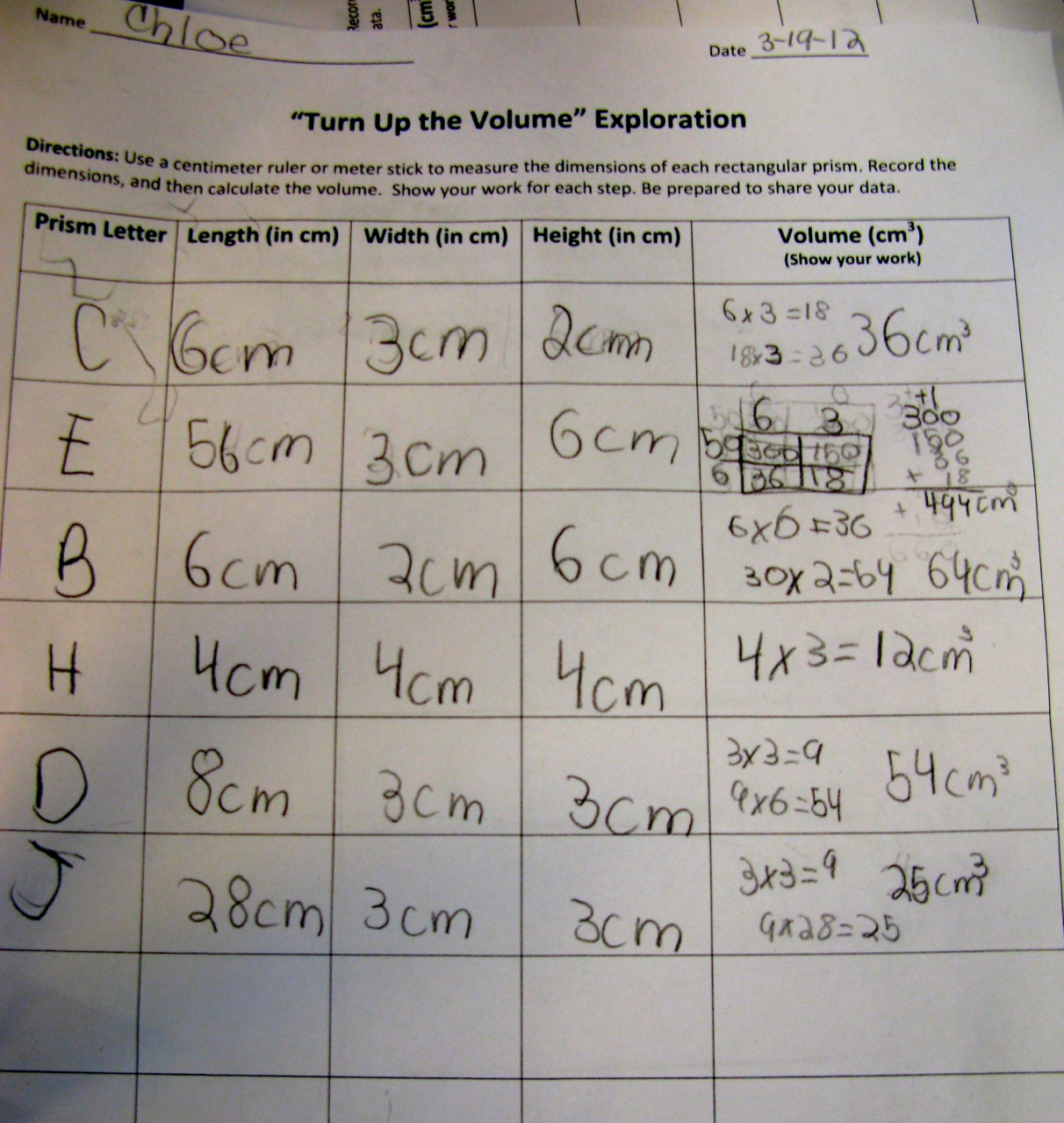 Experimenting with Exploding Soap Volume Density Teamwork – Density Calculations Worksheet