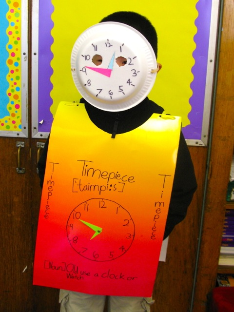 The Vocabulary Parade: A Better Reason To Dress Up