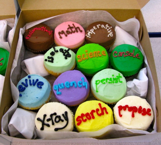 Vocabulary Cupcakes