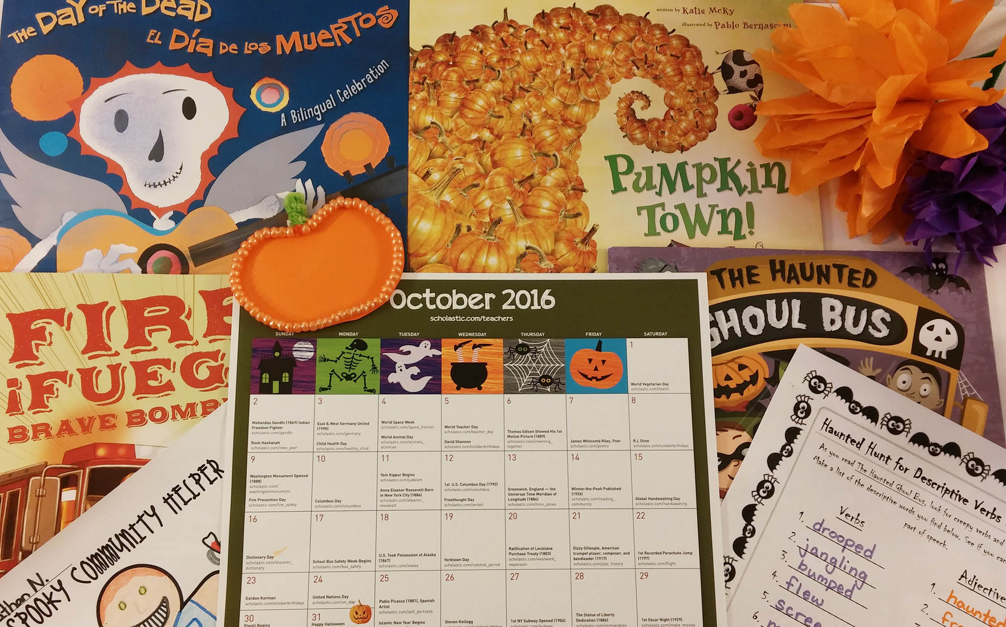 October Read Aloud Books And Activities Scholastic