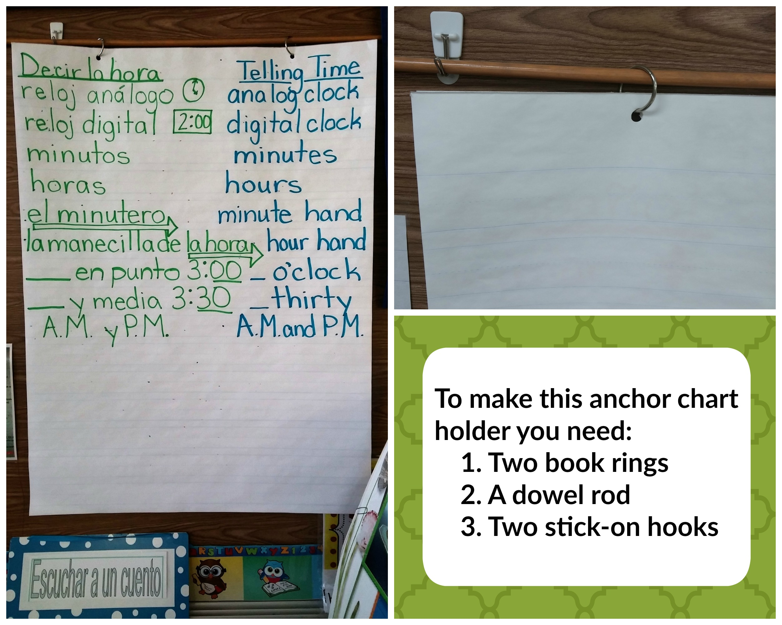Anchor chart holder