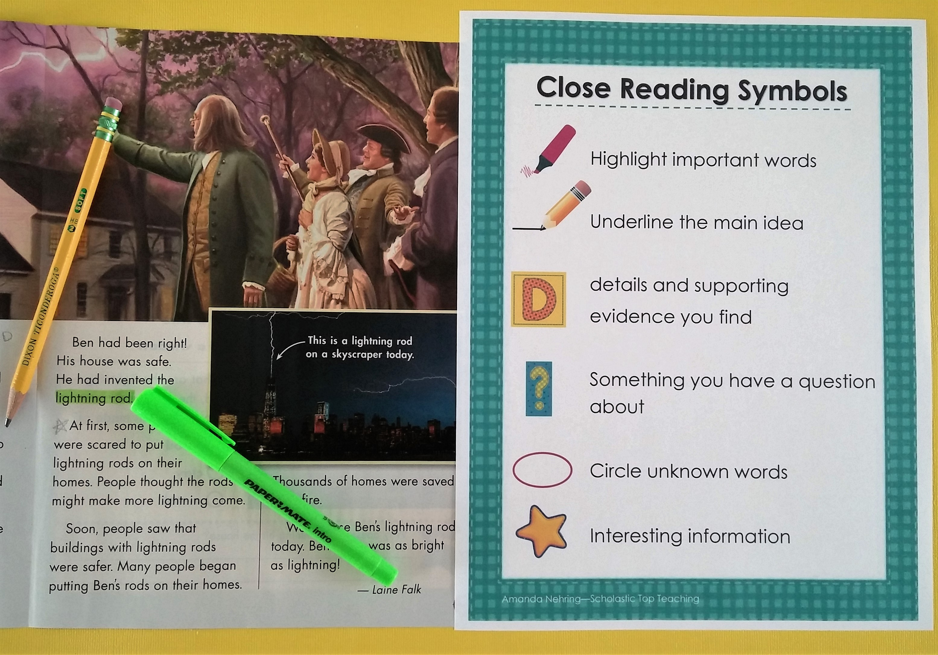 Close Reading with Scholastic News magazines