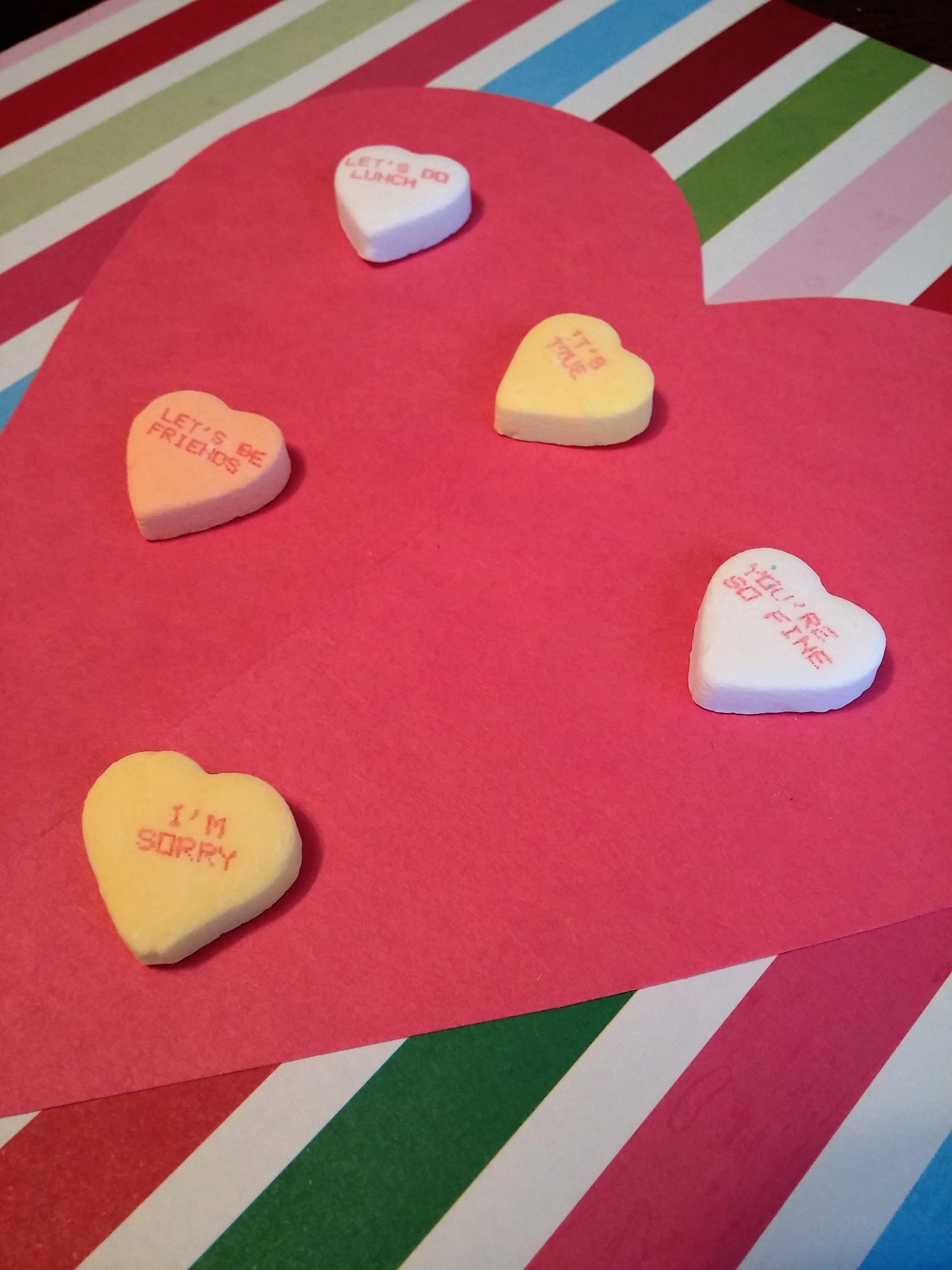 Candy Heart Contractions