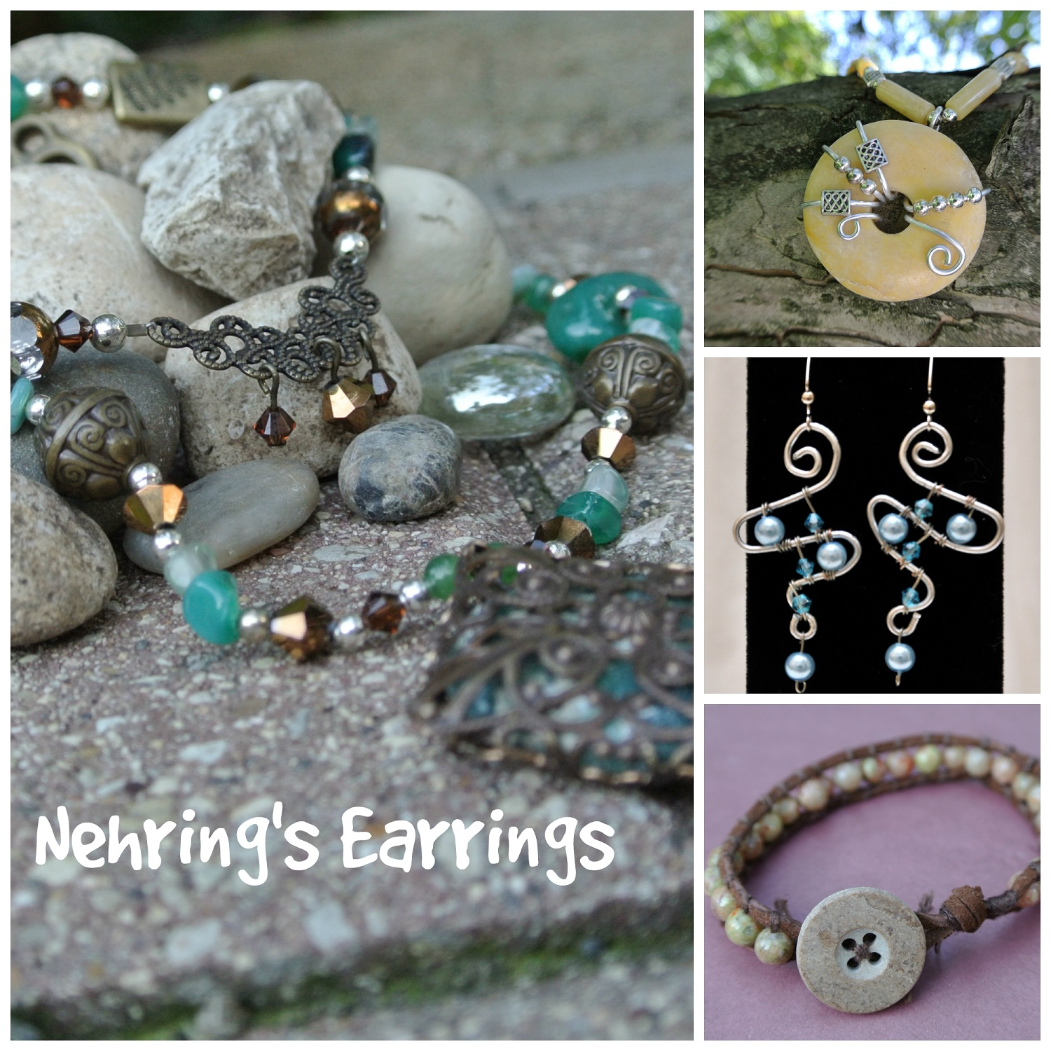 Nehring jewelry collage