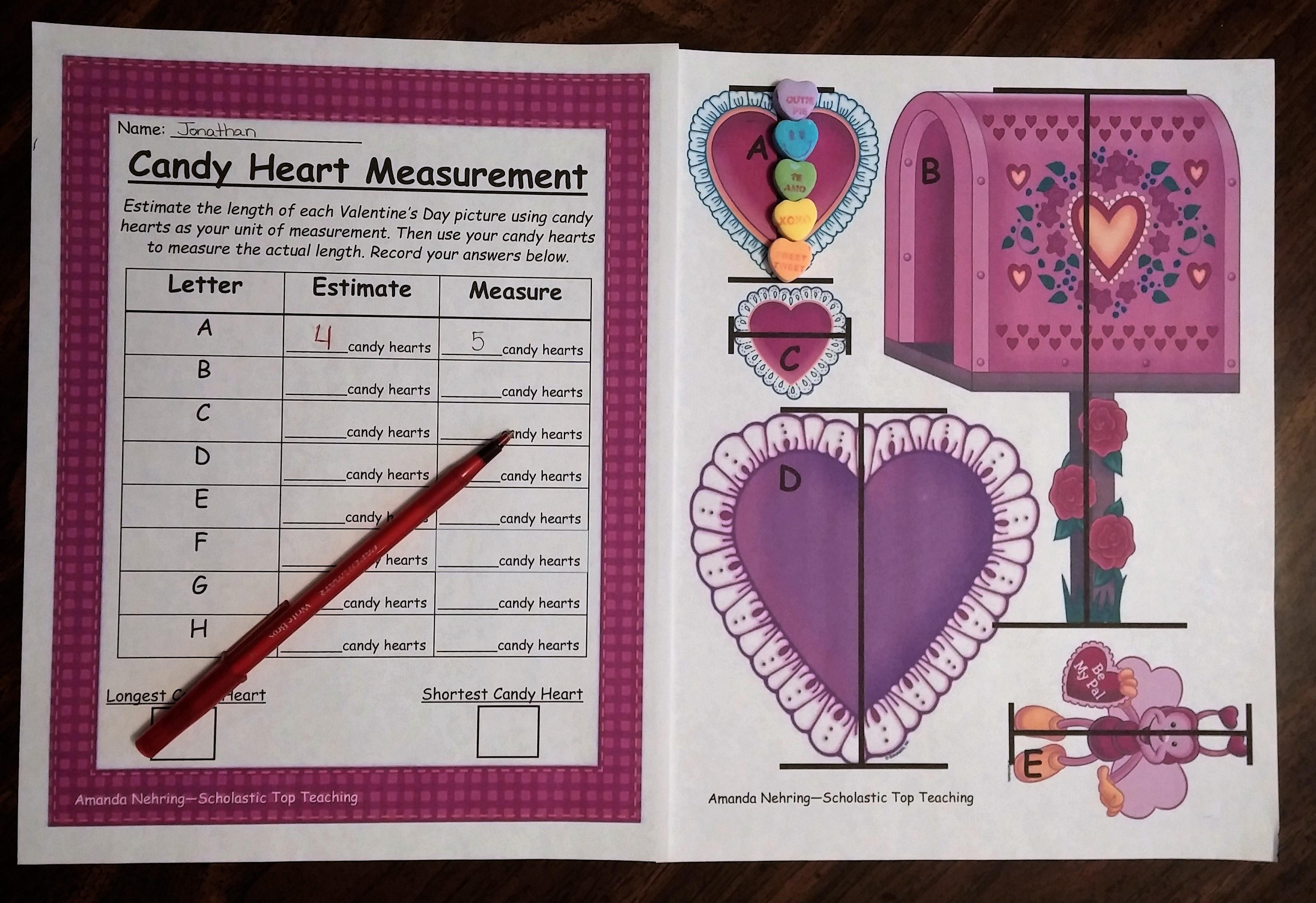 Valentine Candy Crafts