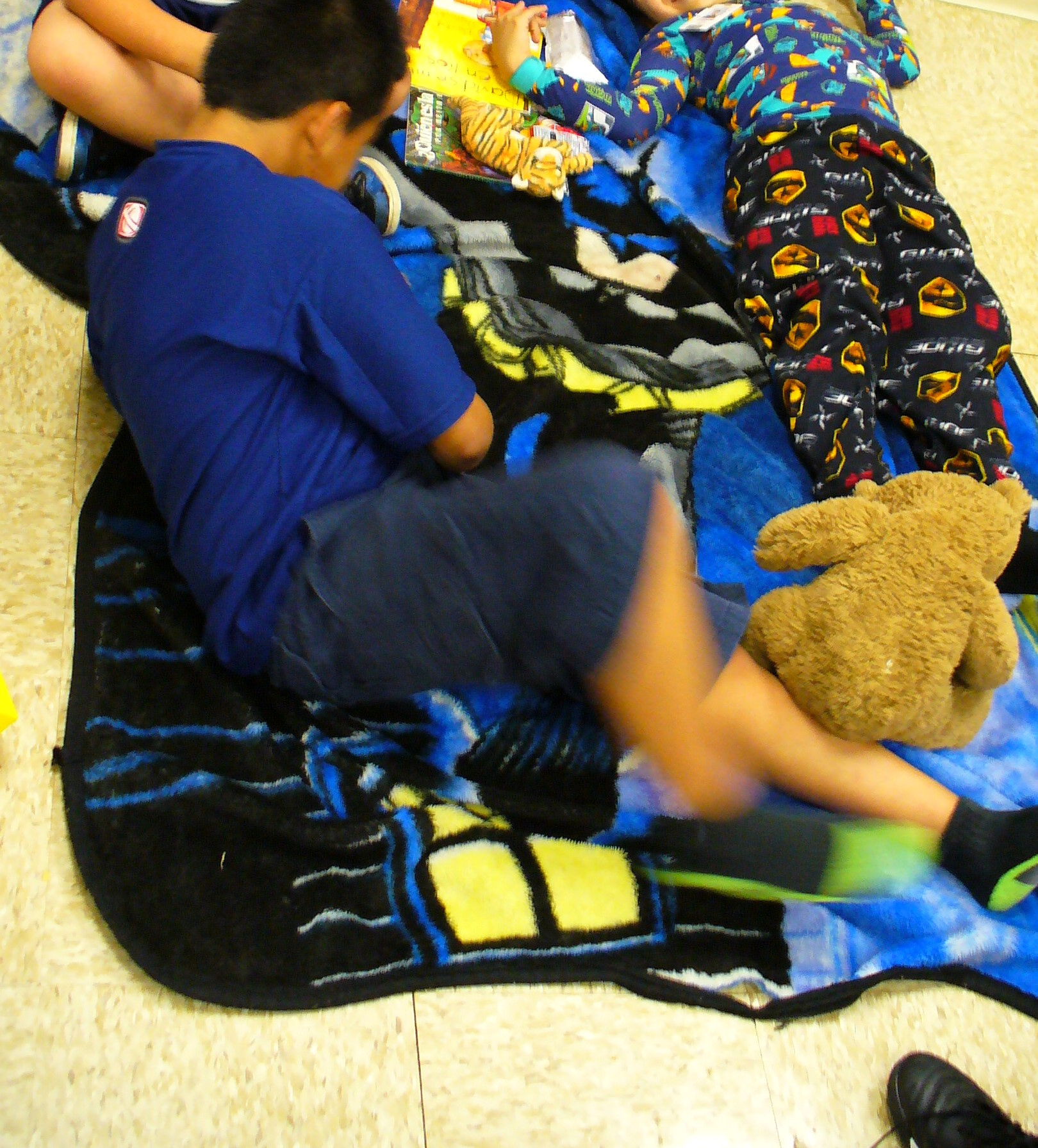 Reading stamina pajama party
